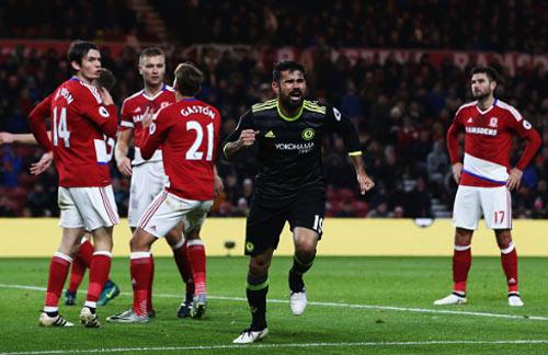 Middlesbrough - Chelsea: Chớp thời cơ lên số 1 BXH - 1