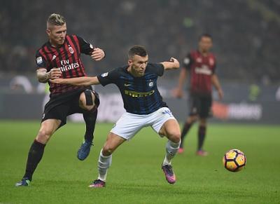 Chi tiết AC Milan - Inter: Người hùng Perisic (KT) - 9
