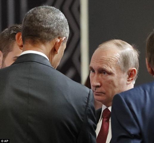 Cái bắt tay lạnh lẽo nhất lịch sử giữa Obama và Putin - 2