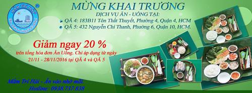 Giảm 20% tuần lễ khai trương quán ăn Món Mắm Trí Hải tại HCM - 5