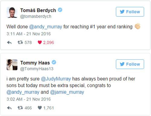 Federer & báo chí ngả mũ trước người hùng Murray - 2