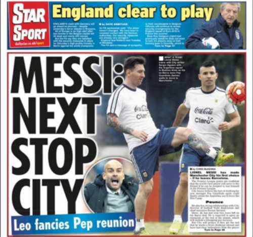 """Messi chỉ lợi dụng Man City để """"làm tiền"""" với Barca - 1"""