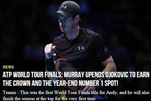 Federer & báo chí ngả mũ trước người hùng Murray - 6
