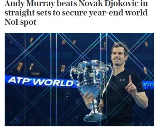 Federer & báo chí ngả mũ trước người hùng Murray - 8