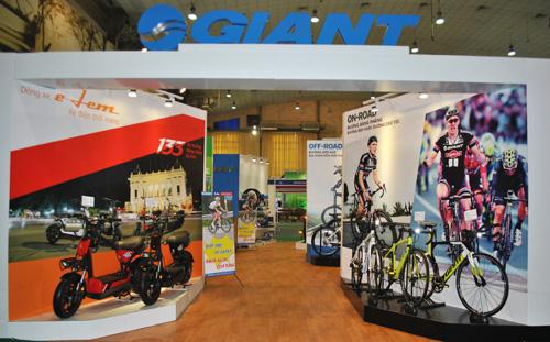 GIANT Việt Nam tham gia triển lãm quốc tế xe hai bánh lần thứ 5 - 1
