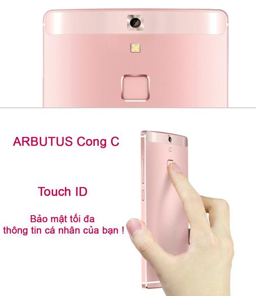 Chính thức ra mắt Arbutus Cong C Ram 3GB bảo mật vân tay - 1