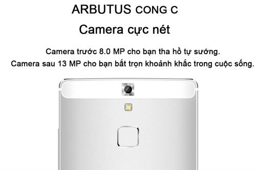 Chính thức ra mắt Arbutus Cong C Ram 3GB bảo mật vân tay - 2