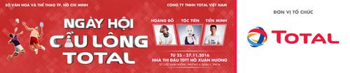 Ngày hội cầu lông Total 2016 – khi Tiến Minh thách đấu nhà vô địch - 1