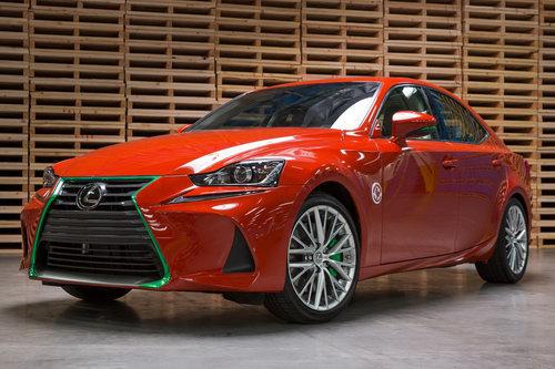 """Lexus IS phiên bản """"tương ớt"""" Sriracha độc nhất vô nhị - 1"""