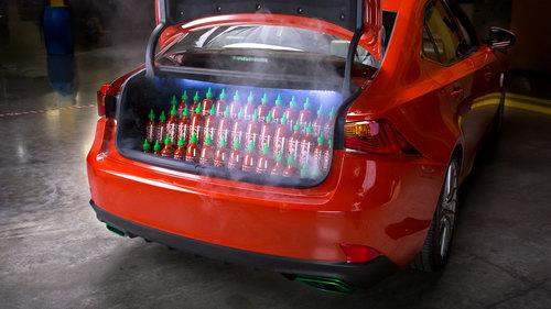 """Lexus IS phiên bản """"tương ớt"""" Sriracha độc nhất vô nhị - 6"""