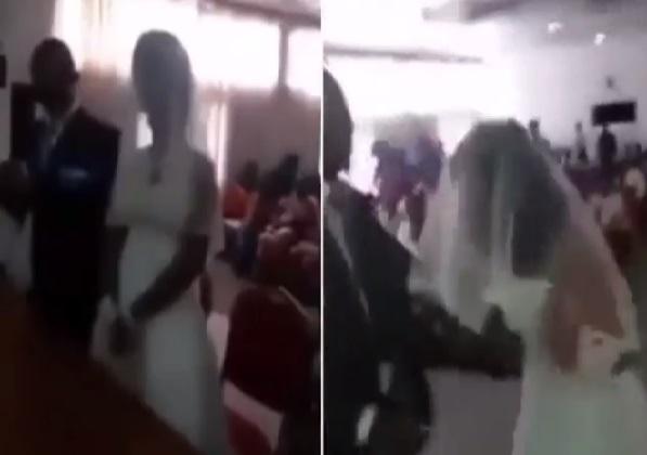 Chú rể đứng hình khi tình nhân mặc như cô dâu đến lễ cưới - 1