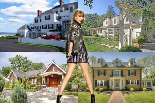 Choáng ngợp khối bất động sản 70 triệu USD của Taylor Swift - 1