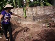 An ninh Xã hội - Hiện trường thi thể 2 bé gái bị chôn trong vườn