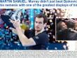 Federer & báo chí ngả mũ trước người hùng Murray
