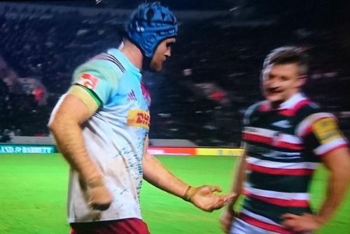 """Liều mình: Sao rugby gãy ngón tay vẫn """"đòi"""" thi đấu - 2"""