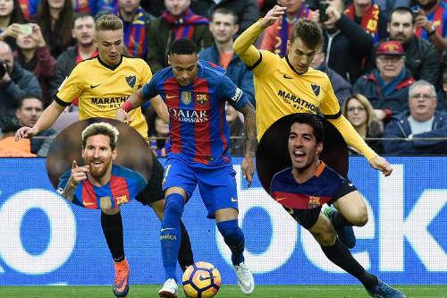 Barca: Buồn, vui cũng bởi Messi-Suarez-Neymar - 1