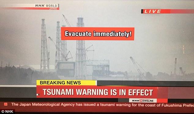Động đất 7,3 độ Richter, cảnh báo sóng thần ở Nhật Bản - 1
