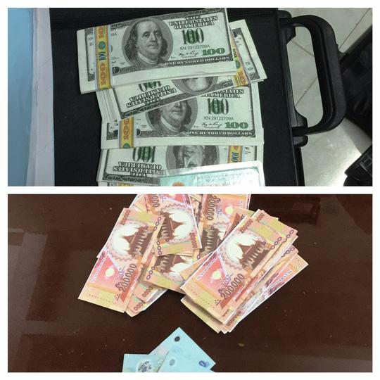 Đang lừa đổi tiền…âm phủ lấy tiền thật, gặp công an - 2