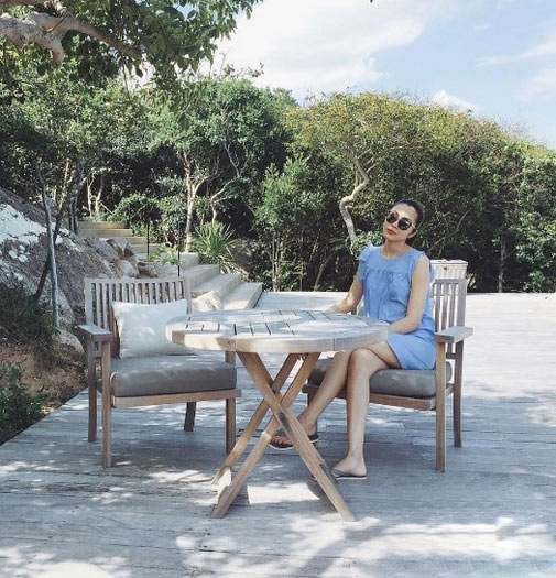 Cuộc sống quá khác biệt của Hà Tăng và em chồng - 4
