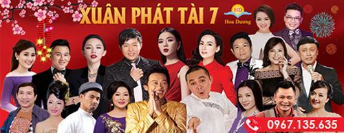 """Xuân Phát Tài 7 quy tụ dàn sao hài kịch và ca nhạc """"khủng"""" - 1"""