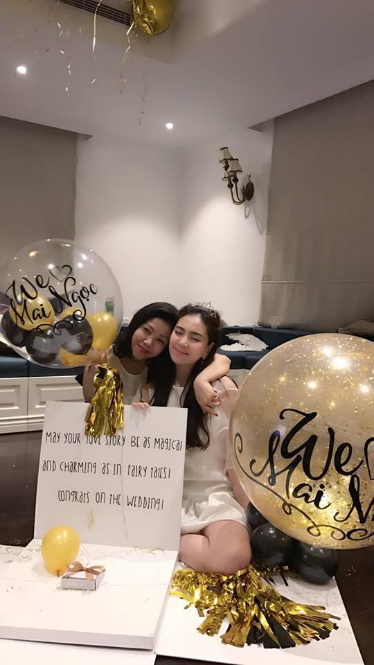 MC Mai Ngọc ngọt ngào trong tiệc chia tay đời độc thân - 6