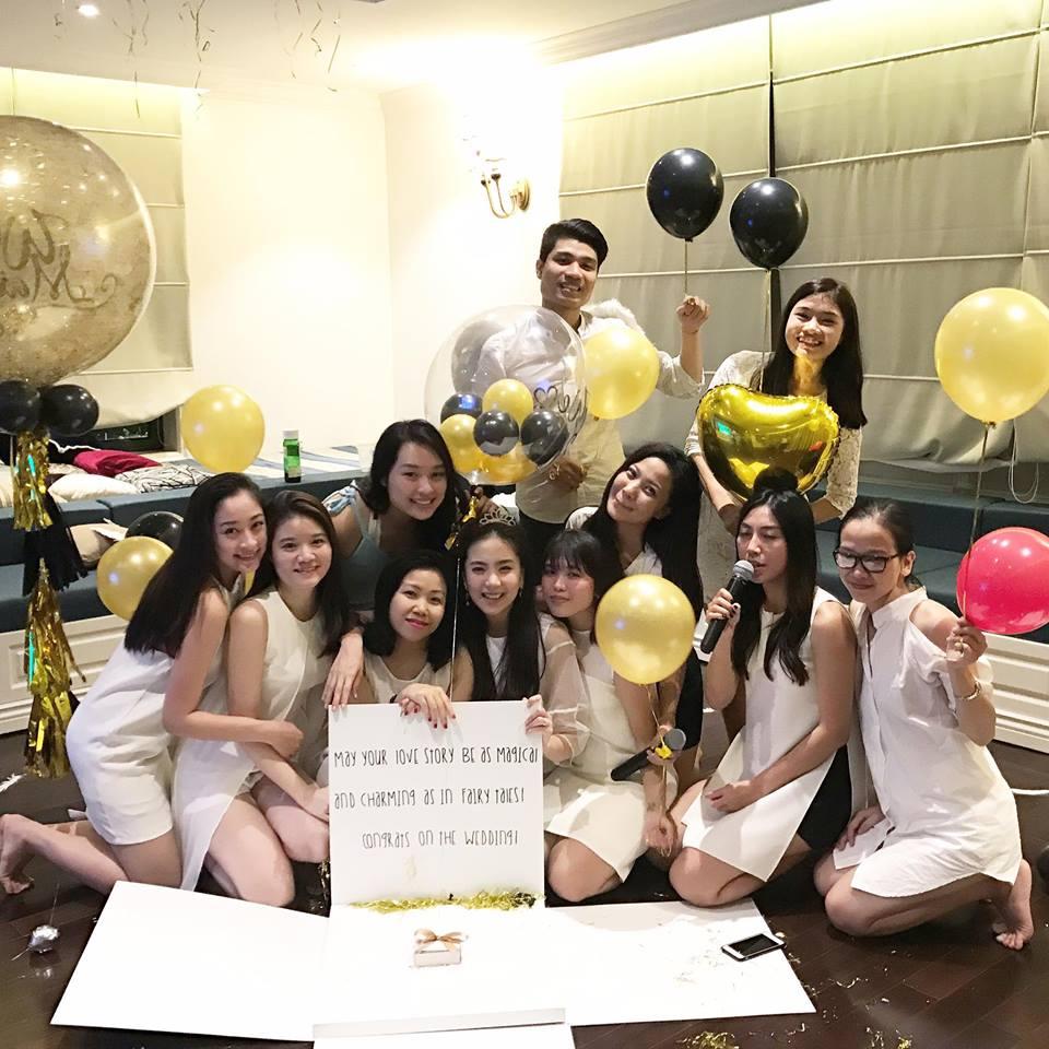 MC Mai Ngọc ngọt ngào trong tiệc chia tay đời độc thân - 4