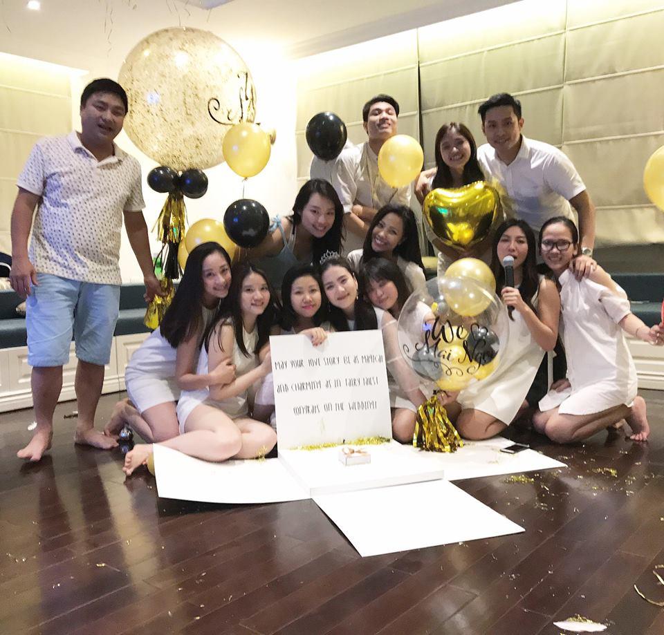 MC Mai Ngọc ngọt ngào trong tiệc chia tay đời độc thân - 5