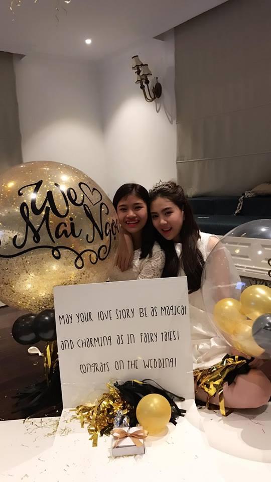 MC Mai Ngọc ngọt ngào trong tiệc chia tay đời độc thân - 8