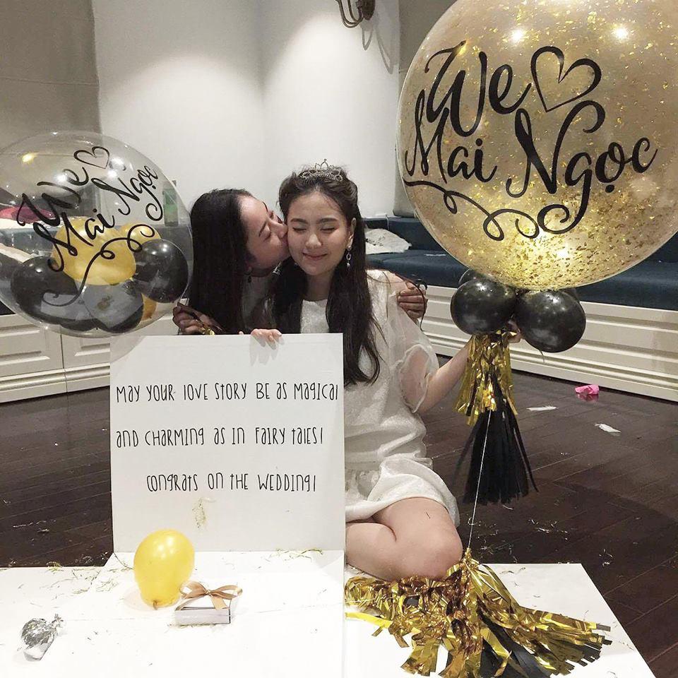 MC Mai Ngọc ngọt ngào trong tiệc chia tay đời độc thân - 9