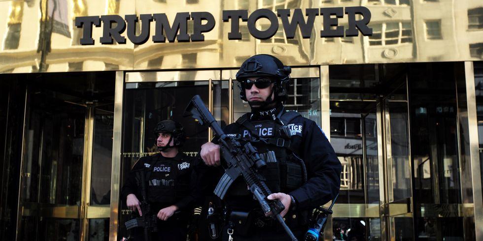 """New York """"phát hoảng"""" vì số tiền khổng lồ bảo vệ Trump - 1"""