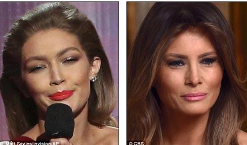 Gigi Hadid bị la ó vì giễu cợt vợ đẹp của Donald Trump - 3