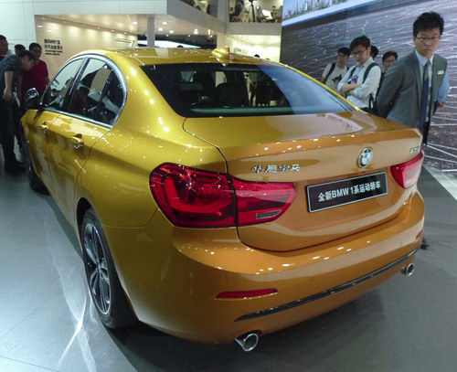 BMW 1-Series Sedan hoàn toàn mới lần đầu ra mắt - 4