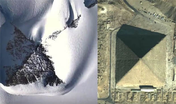"""Giới khoa học sửng sốt với """"kim tự tháp tuyết"""" ở Nam Cực - 2"""