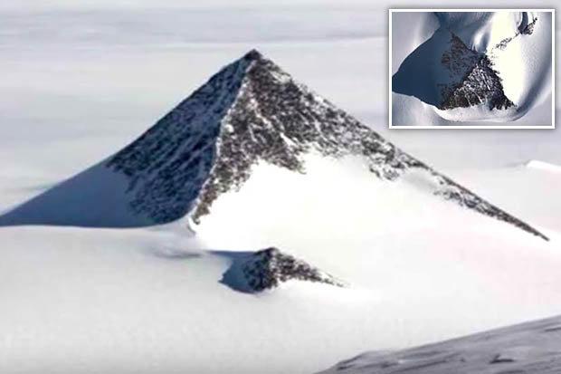 """Giới khoa học sửng sốt với """"kim tự tháp tuyết"""" ở Nam Cực - 1"""