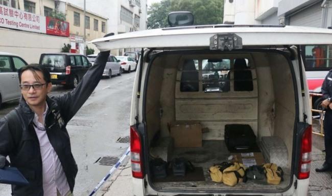 Hong Kong: Dùng xe đẩy cướp 70 thỏi vàng trị giá 58 tỉ - 1