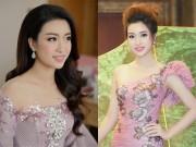 Thời trang - Hoa hậu Mỹ Linh di chuyển như con thoi vẫn đẹp hút mắt