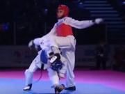 Thể thao - Kỷ lục Taekwondo: Ghi 73 điểm không dính đòn nào