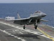 Nguyên nhân MiG-29K Nga vỡ tan khi hạ cánh ở tàu sân bay