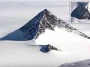"""Giới khoa học sửng sốt với """"kim tự tháp tuyết"""" ở Nam Cực"""