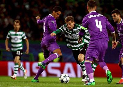 Chi tiết Sporting Lisbon - Real Madrid: Benzema tỏa sáng (KT) - 3