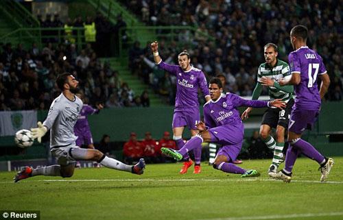 Sporting Lisbon – Real Madrid: Cú đánh đầu đẳng cấp - 1