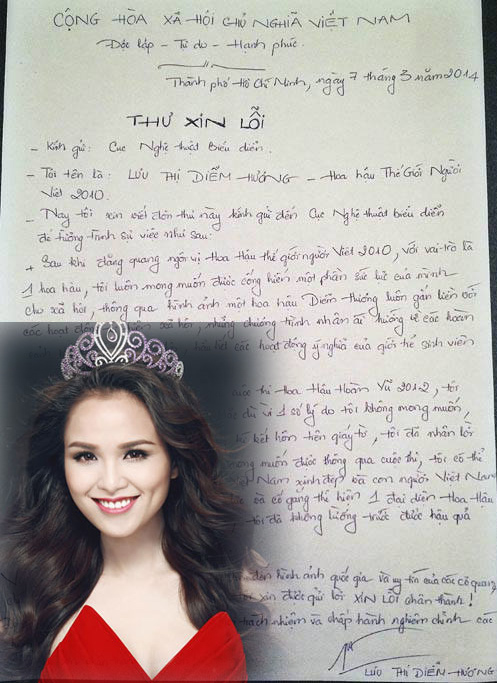 So kè chữ viết của dàn hoa - á hậu Việt - 9