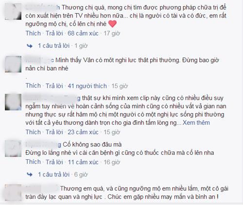 Fan nghẹn lòng động viên Vân Hugo vượt bạo bệnh - 3