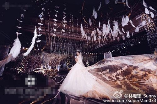 Hơn 30 triệu người xem đám cưới siêu sang của hot girl TQ - 4