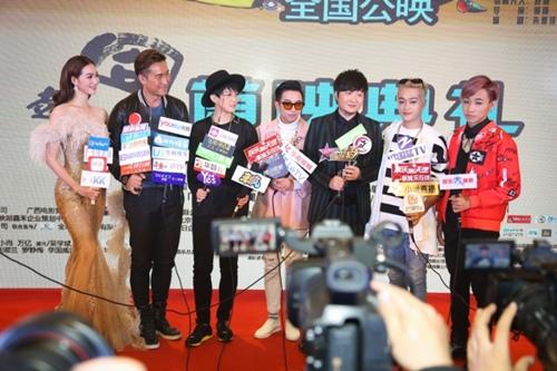 Khánh My, HKT khiến buổi ra mắt phim ở TQ sôi nổi - 8