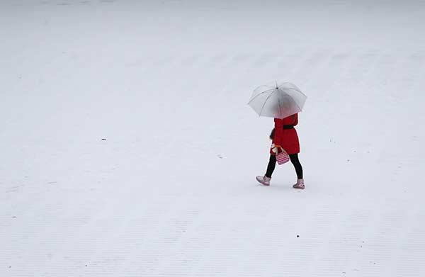 Tuyết đầu mùa phủ trắng Trung Quốc - 3