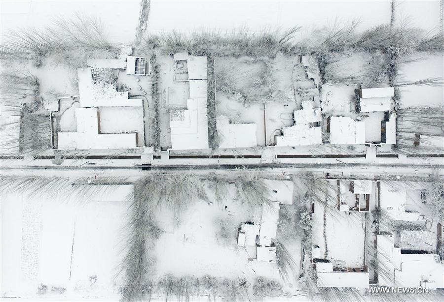 Tuyết đầu mùa phủ trắng Trung Quốc - 5