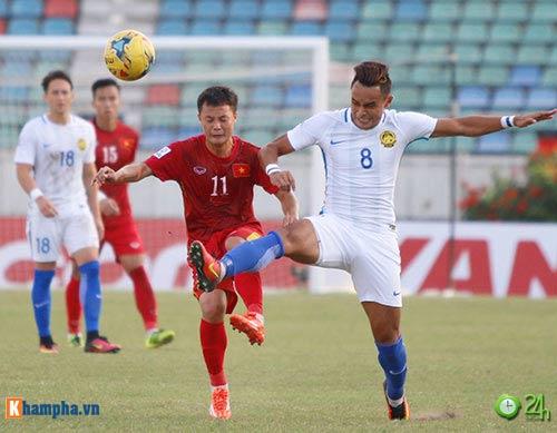 HLV Hữu Thắng & Công Vinh tố cầu thủ Malaysia đá láo - 13