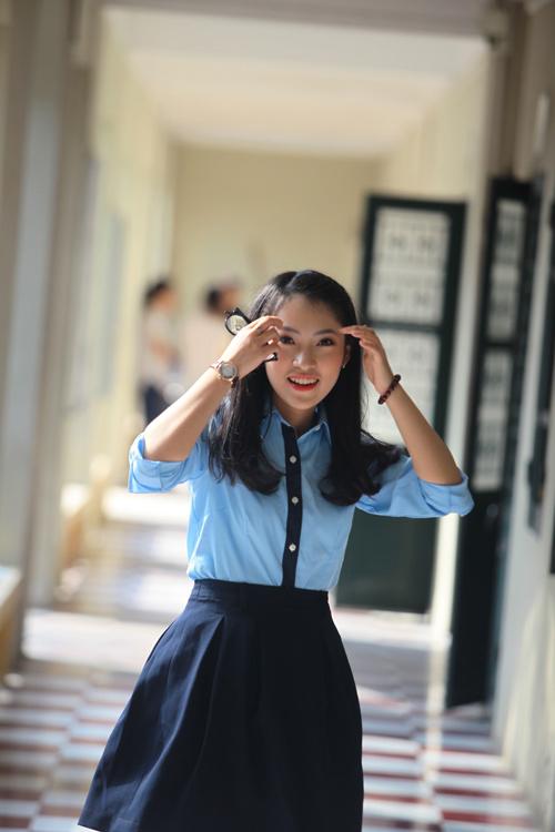 """Gặp lại hot girl xứ Nghệ """"bắn liên thanh"""" 7 thứ tiếng - 1"""