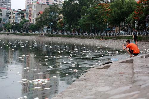 """Sông hồ Hà Nội: Những """"lá phổi"""" chết giữa Thủ đô - 4"""